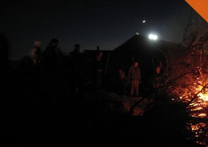 Lozenje badnjaka 2011